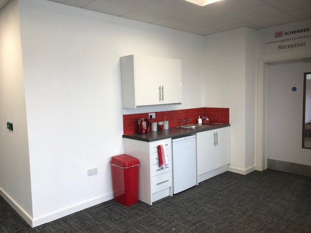 office partitioning installation