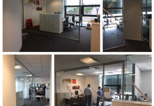 Glass Partitioning System